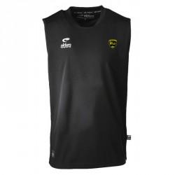 Debardeur CHAMPION Noir +  Logo club