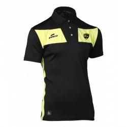 Polo 10NAMIK Noir/Jaune + Logo club