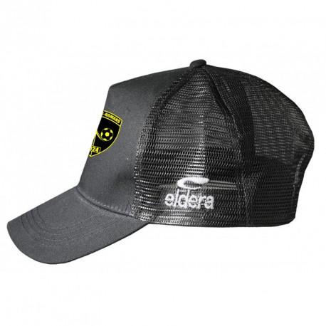 Casquette TRUCKER Noir + Logo club