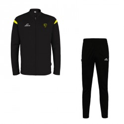 Ensemble Veste + Pantalon BR11 Noir/Jaune + Logo club