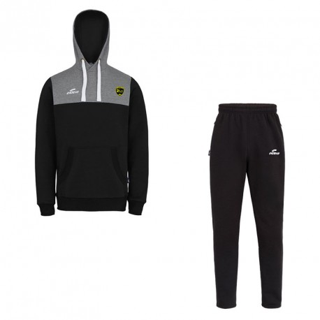 Ensemble Sweat + Pantalon COBRA Noir/Gris + Logo club