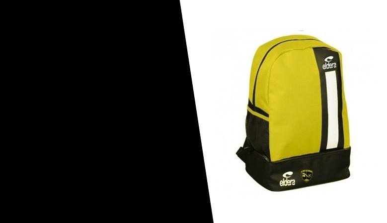 Sac ADO BOX Noir/Jaune + Logo club